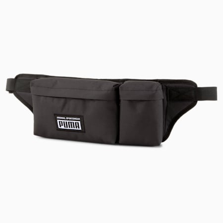 Academy Multi Waist Bag, Puma Black, small-SEA