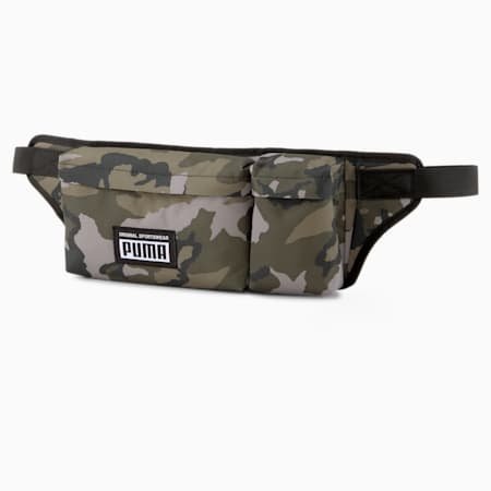Academy Multi Waist Bag, Forest Night-Camo AOP, small-GBR