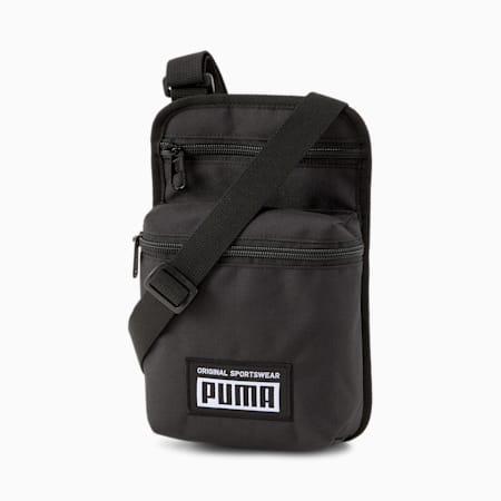 Academy Portable Bag, Puma Black, small-IND
