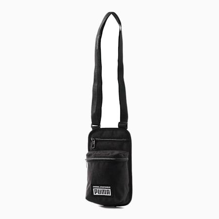 プーマ アカデミー ポータブル ショルダー バッグ ユニセックス 1.5L, Puma Black, small-JPN