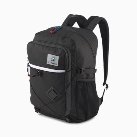 BMW M Motorsport Backpack, Puma Black, small-IND