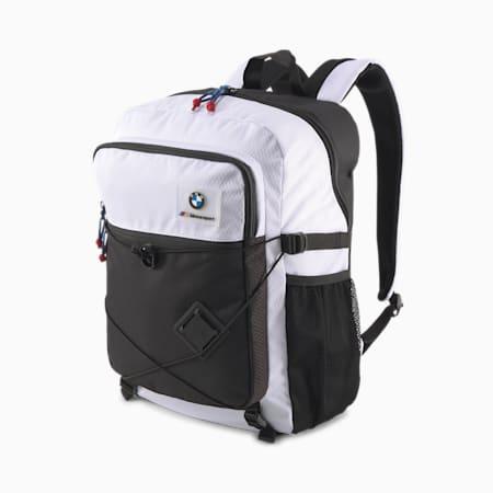 BMW M Motorsport Backpack, Puma White, small