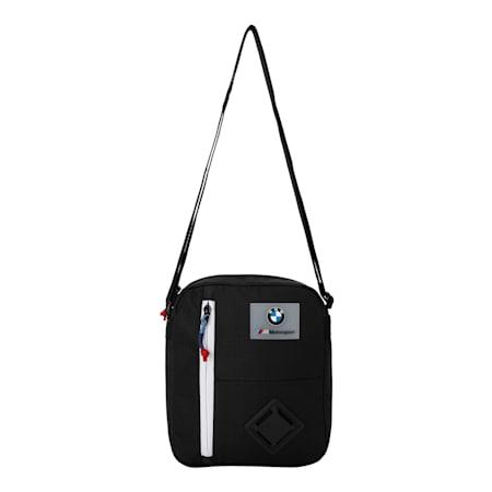 BMW M Motorsport Large Portable Bag, Puma Black, small-IND