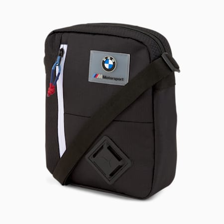 BMW M Motorsport Large Portable Bag, Puma Black, small-SEA