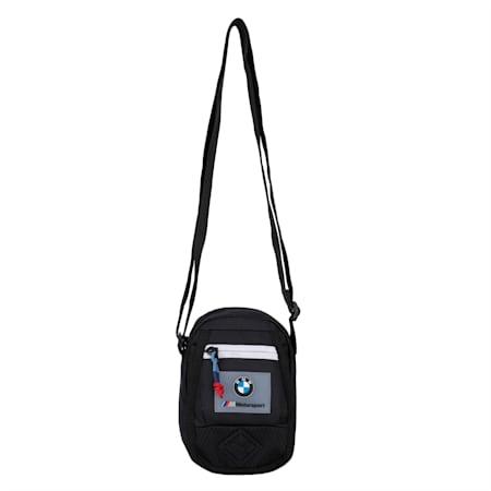 BMW M Motorsport Mini Portable Bag, Puma Black, small-IND