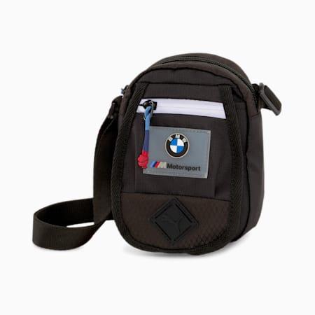 BMW M Motorsport Mini Portable Bag, Puma Black, small-SEA