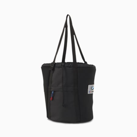 BMW M Motorsport Drawstring Bag, Puma Black, small-IND