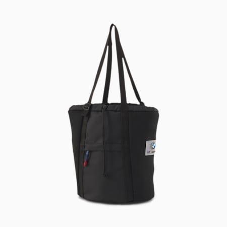 BMW M Motorsport Drawstring Bag, Puma Black, small
