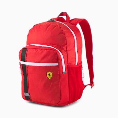 Scuderia Ferrari Race Backpack, Rosso Corsa, small-SEA