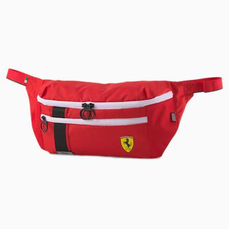 Scuderia Ferrari Race Waist Bag, Rosso Corsa, small-SEA