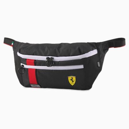 Scuderia Ferrari Race Waist Bag, Puma Black, small-SEA