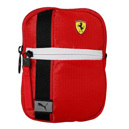 Scuderia Ferrari Race Mini Portable Bag, Rosso Corsa, small-IND