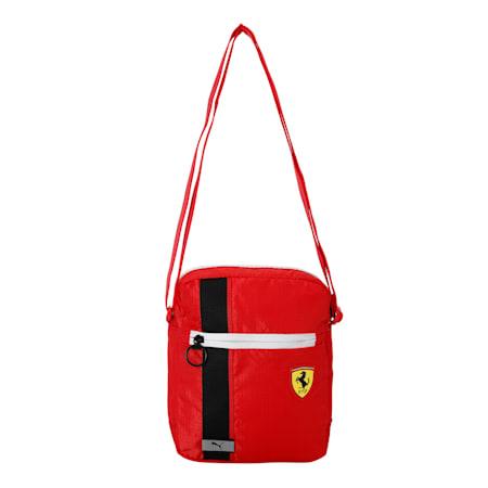 Scuderia Ferrari Race Large Reflective Tec Portable Bag, Rosso Corsa, small-IND