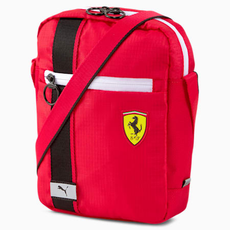 Scuderia Ferrari Race Large Portable Bag, Rosso Corsa, small-SEA