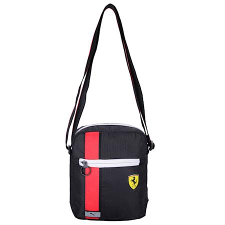 Scuderia Ferrari Race Large Reflective Tec Portable Bag, Puma Black, small-IND