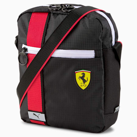 Scuderia Ferrari Race Large Portable Bag, Puma Black, small-SEA