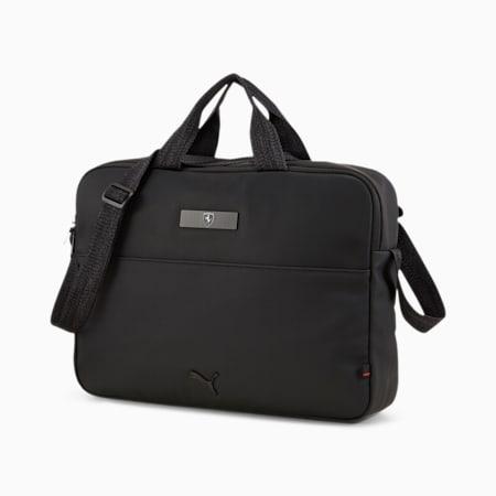 Scuderia Ferrari Style Reporter Bag, Puma Black, small-IND