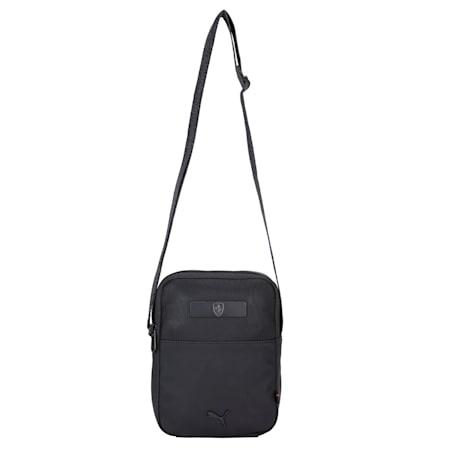 Scuderia Ferrari Style Small Portable Bag, Puma Black, small-IND