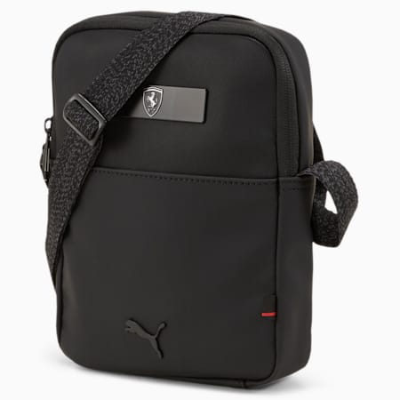 Scuderia Ferrari Style Small Portable Bag, Puma Black, small-SEA