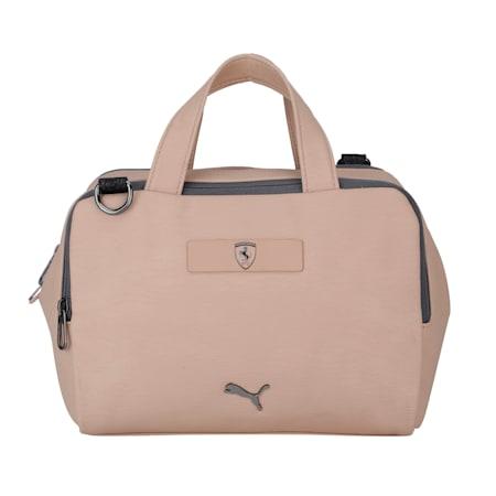 Scuderia Ferrari Style Women's Handbag, Pale Khaki, small-IND