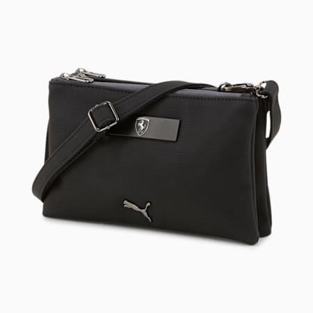 Scuderia Ferrari Style Women's Mini Handbag, Puma Black, small-IND