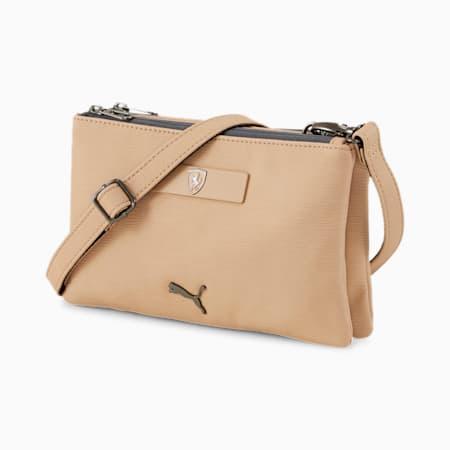 Scuderia Ferrari Style Women's Mini Handbag, Pale Khaki, small-IND