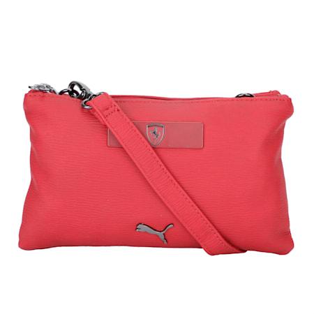 Scuderia Ferrari Style Women's Mini Handbag, Red Dahlia, small-IND