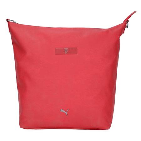 Scuderia Ferrari Style Women's Borsa Zaino, Red Dahlia, small-IND