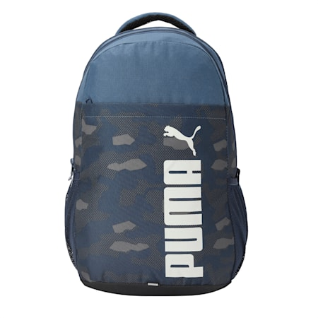 PUMA Style Backpack IND, Dark Denim, small-IND