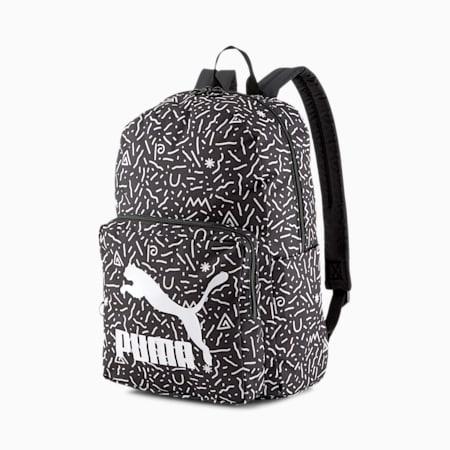 Originals rugzak, Puma White-Doodle Graphic, small