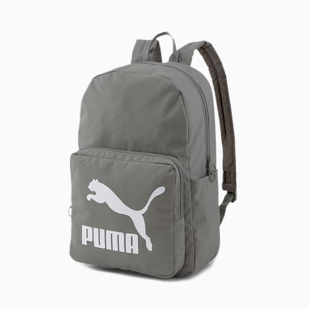 Originals Backpack, Ultra Gray-Puma White, small-IND
