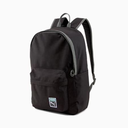 Originals Retro Reflective Tec Backpack, Puma Black-heather, small-IND