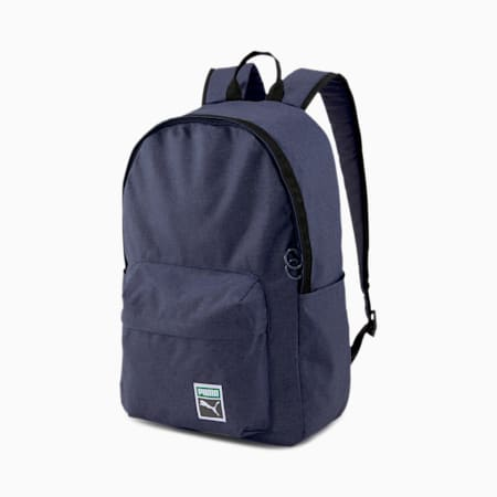 Originals Retro Backpack, Peacoat-heather, small-GBR