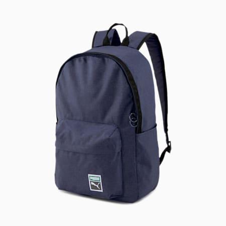Originals Retro Backpack, Peacoat-heather, small-SEA