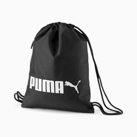 PUMA R Turnbeutel, Puma Black, small
