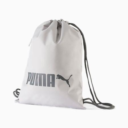 Bolsa de gimnasio PUMA R, Gray Violet, small