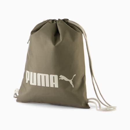 PUMA R Gym Bag, Burnt Olive, small