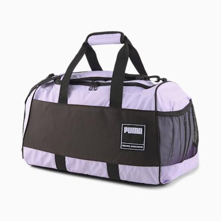 PUMA Unisex Gym Duffle Bag, Light Lavender, small-IND