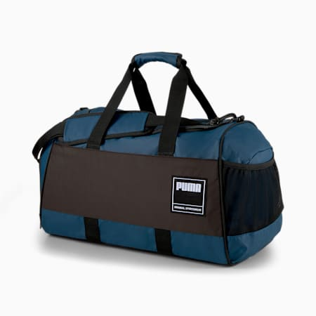PUMA Unisex Gym Duffle Bag, Intense Blue, small-IND