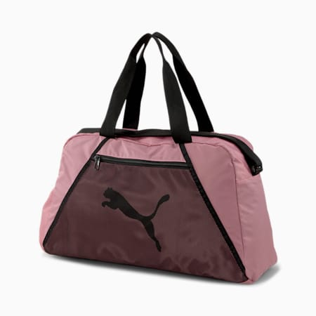 Essentials Women's Training Grip Bag, Foxglove-Puma Black, small
