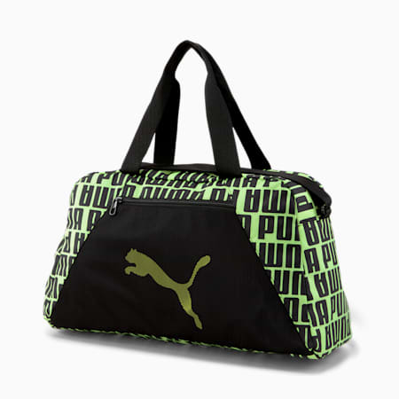 AT Essentials Grip Bag, Puma Black-Fizzy Yellow, small