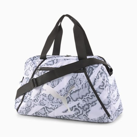 Essentials Women's Training Grip Bag, Puma White-untamed, small-SEA