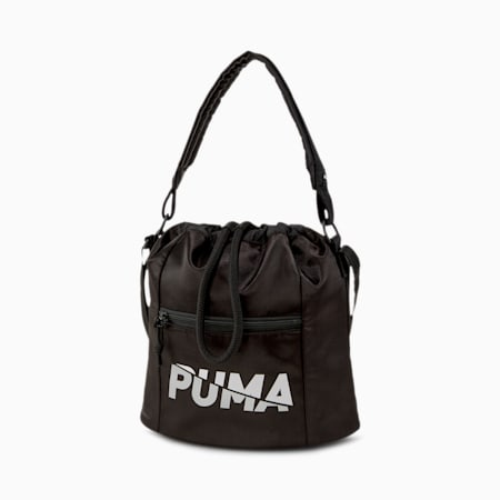 Bolso Core Base Bucket, Puma Black, pequeño