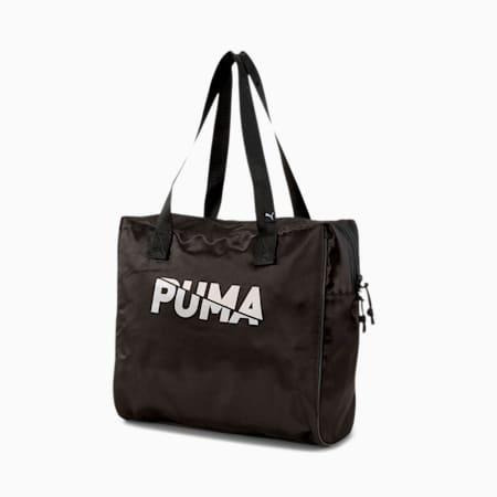 Base Large Women's Shopper, Puma Black, small-IND