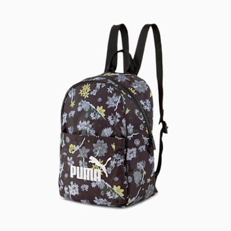 Core Seasonal Backpack, Puma Black-AOP, small