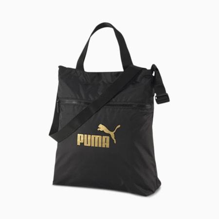 Seasonal Women's Shopper, Puma Black-solid, small-SEA