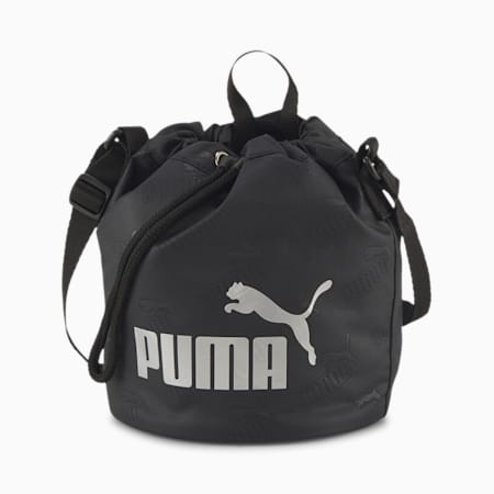 Core Up Small Bucket Bag, Puma Black, small