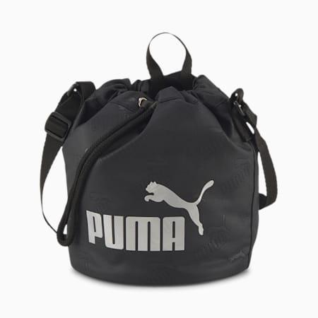 Core Small Women's Bucket Bag, Puma Black, small-SEA