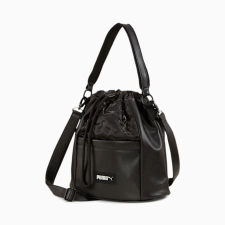 Prime Classics Women's Bucket Bag, Puma Black, small-SEA