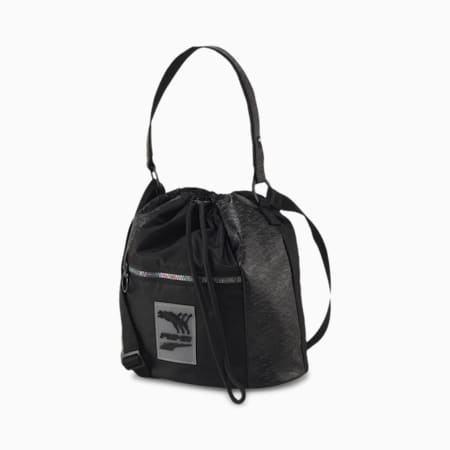 Prime Time Bucket Bag, Puma Black, small-SEA